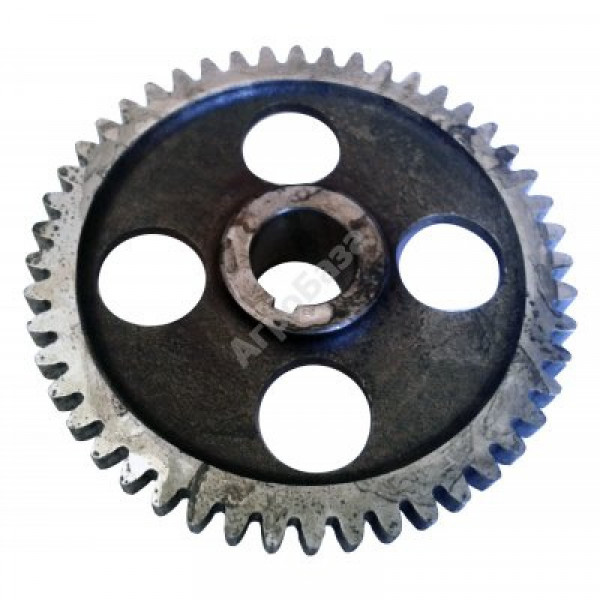 Шестерня вала балансировочного Z=51 (внутр. Ø 23 мм - косой зуб) 190N