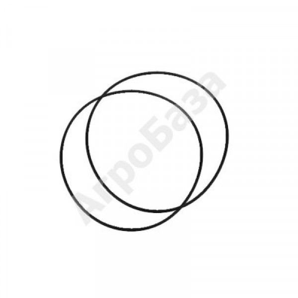 Кольца уплотнительные гильзы 180 Ø 80мм (комплект)